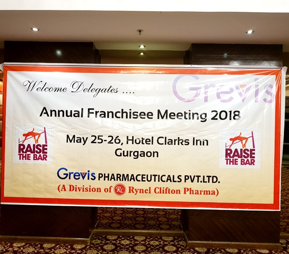 Annual Franchise Meeting Banner